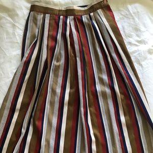 Vintage Levi's vertical stripe skirt
